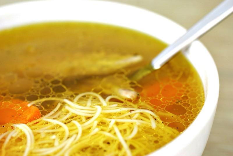 Татарский суп из курицы или индейки (шулпа)
