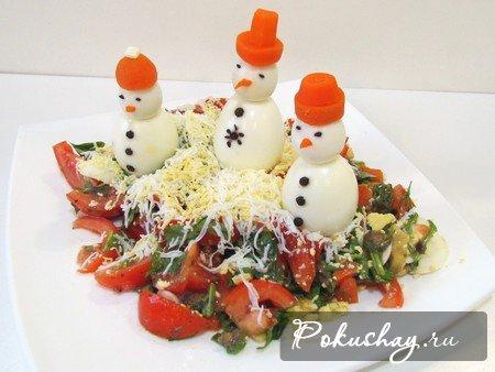 Салаты с фотографиями и рецептами для нового 2011 года