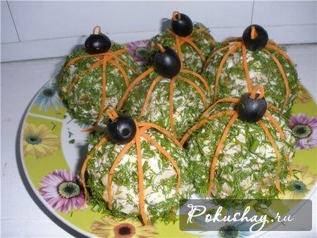Салат новогодний шар фото
