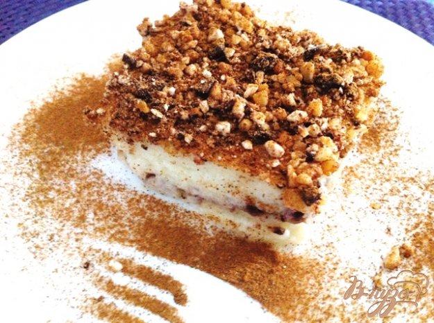 Турецкий десерт из манной крупы