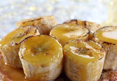 Жареные карамельные бананы