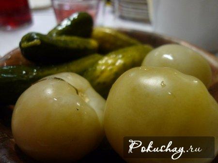 бочковые зеленые помидоры рецепт с фото