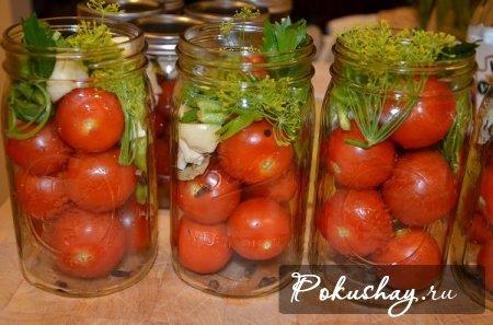 как солить помидоры рецепты с фото