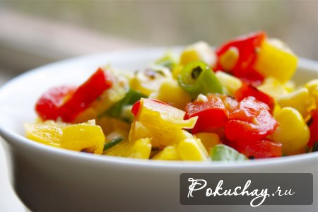 Консервация салатов из перца с фотом