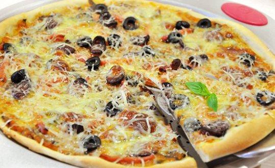 Пицца «Ассорти» + соус для пиццы