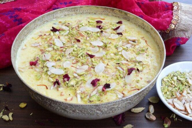 Кхир (сладкий рисовый пудинг)