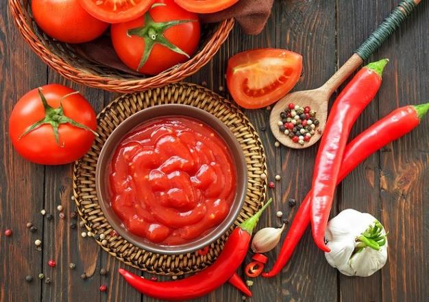 Острый домашний кетчуп
