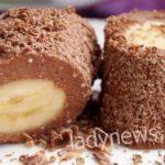 Десерт из творога и банана — рецепт на скорую руку