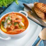Солянка рыбная с морепродуктами