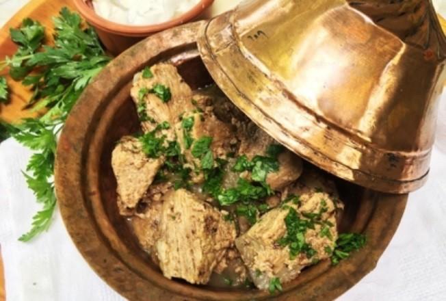 Тушёная говядина по-турецки