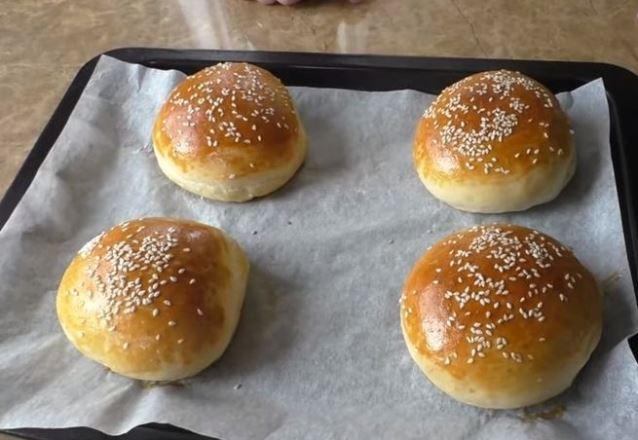 Простой рецепт булочек для бутербродов и гамбургеров