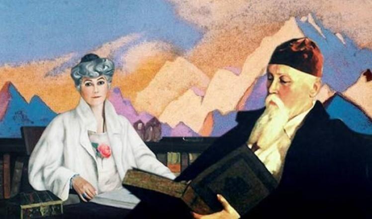 Что художник Николай Рерих и его супруга Елена пророчили России