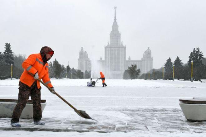 Погода в Москве: направление циклона «Сара» оценили в Гидрометцентре
