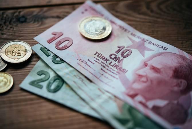 Турецкая лира продолжает падать