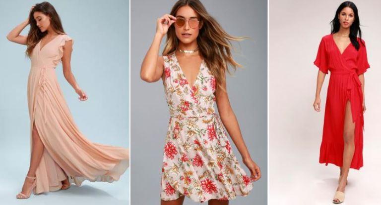 Как правильно выбрать модные платья с запахом, новинки 2020 — 2021 года