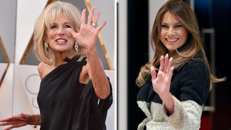 Образы Мелани Трамп и Джилл Байден сравнили модные стилисты
