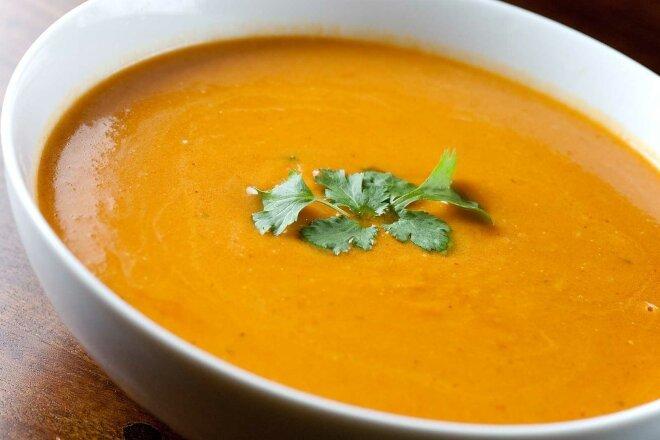 Сливочно-тыквенный суп