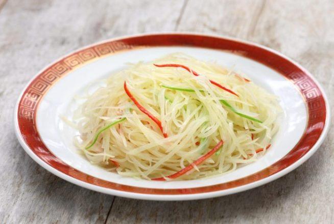 Жареная картошка по-китайски