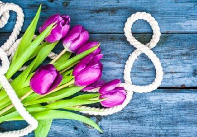 Официальные поздравления с 8 марта коллегам женщинам в прозе
