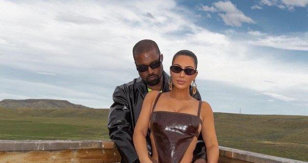 Ким Кардашьян проведет День всех влюбленных не с Канье Уэстом