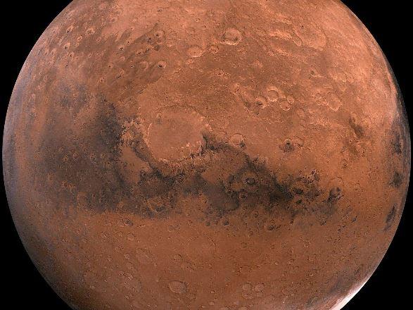 Первое фото Марса прислал эмиратский зонд Hope