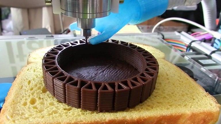 Зачем 3Д-принтер на кухне или как печать еды выводит готовку на новый уровень