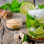 Безалкогольный мохито с лаймом и мятой