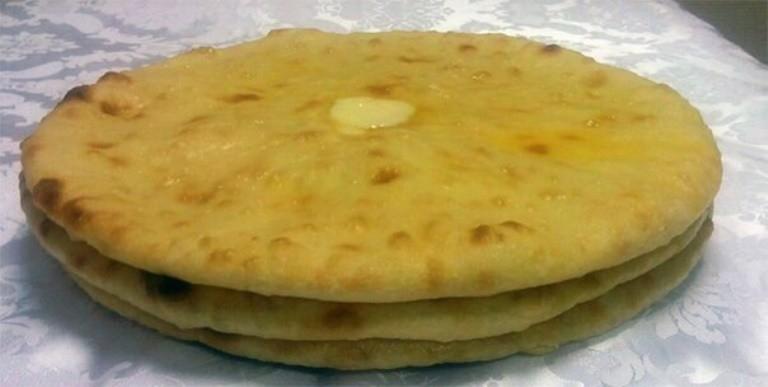 Картофджын - пирог с картошкой