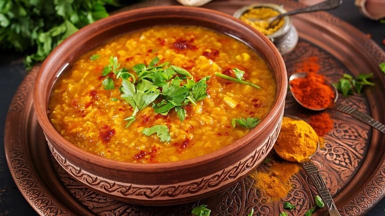 Индийский чечевичный суп