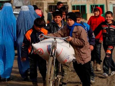 ООН: Этой зимой миллионы афганцев столкнутся с голодом